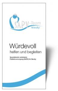 Infoflyer SAPV-Team Niesky